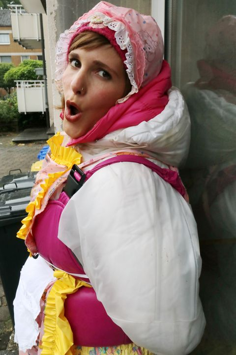 maid karcila shows her skills - maids in plastic clothes