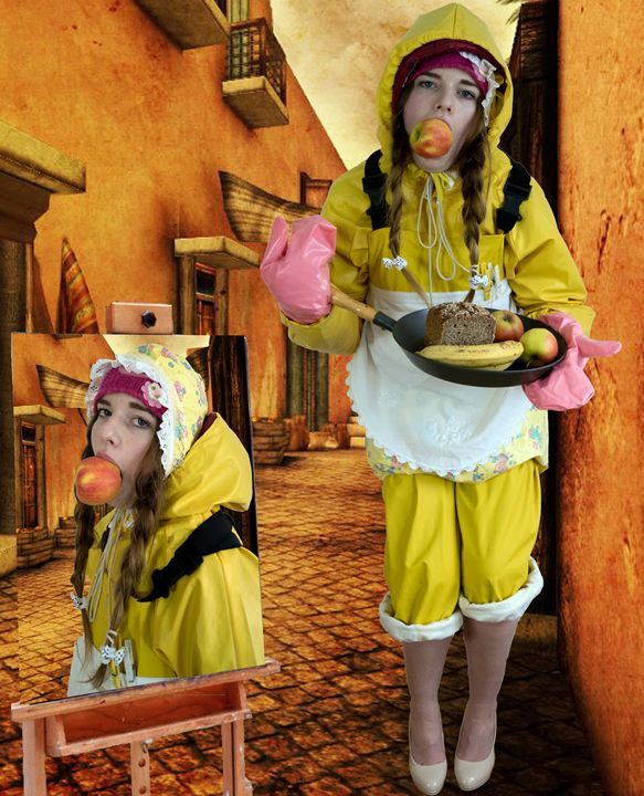 maid flabbyzulma in Orient - maids in plastic clothes