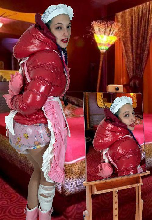 maid spankapunda - maids in plastic clothes