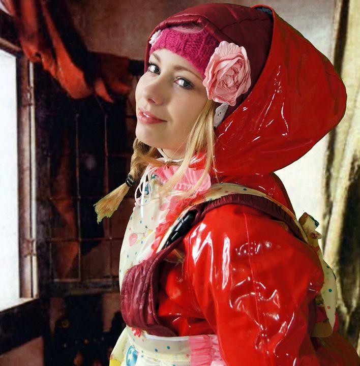 beautiful maid bollozulma - maids in plastic clothes
