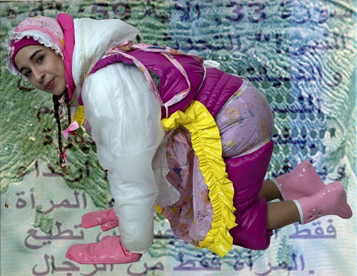 maid aljuru maki - maids in plastic clothes
