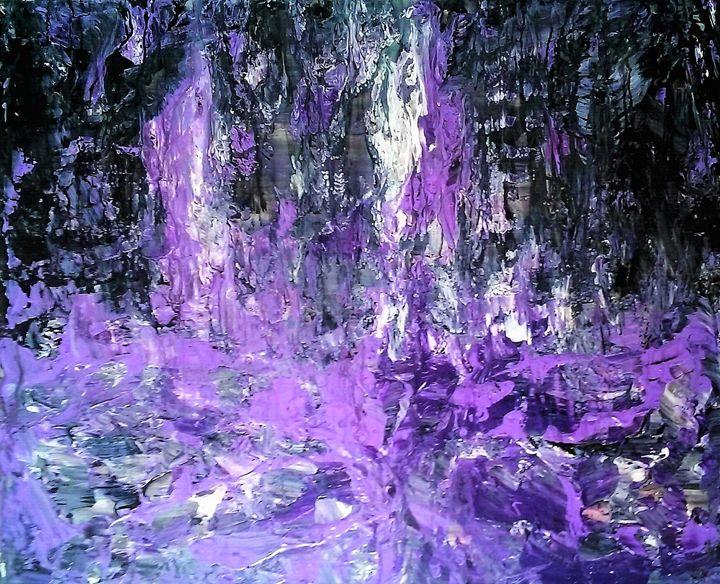 Born to purple - Mag's Art Gallery