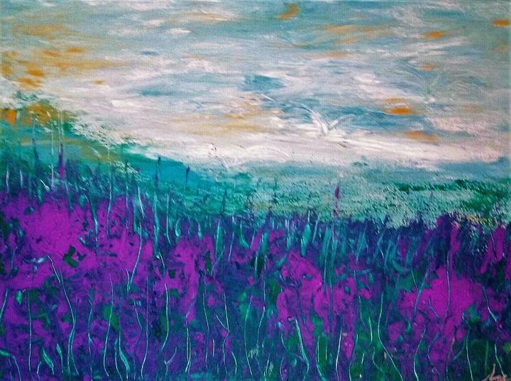 Violet dream - Mag's Art Gallery