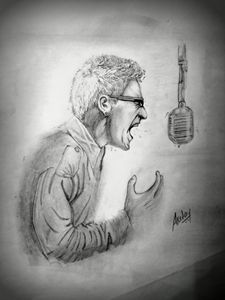 Chester Bennington - Linkin Park Art