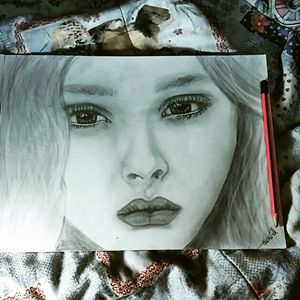 my first pencil art