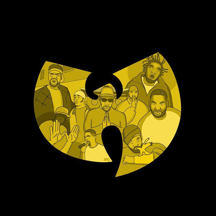 Wu Tang Clan - MarcusAllenDesign