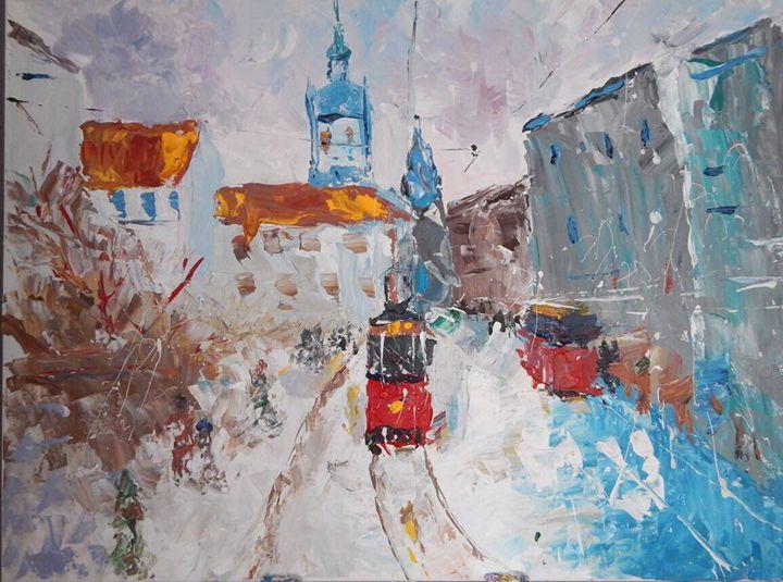 Lviv Square - Pavlo's Art