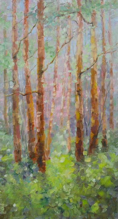 An April day in woods - Emilia Milcheva