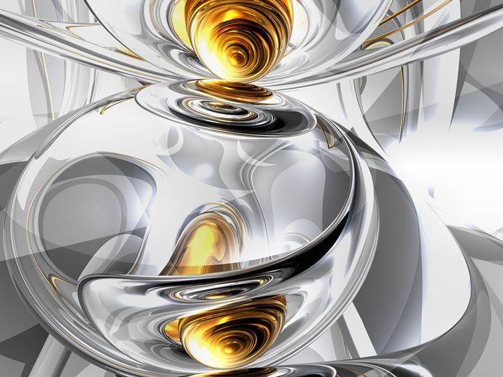 Circumvoluted Abstract - World of Alexander Butler