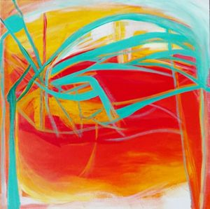 Energy, original abstract painting