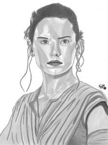 Daisy Ridley Portrait