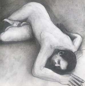 Nude male, original drawing