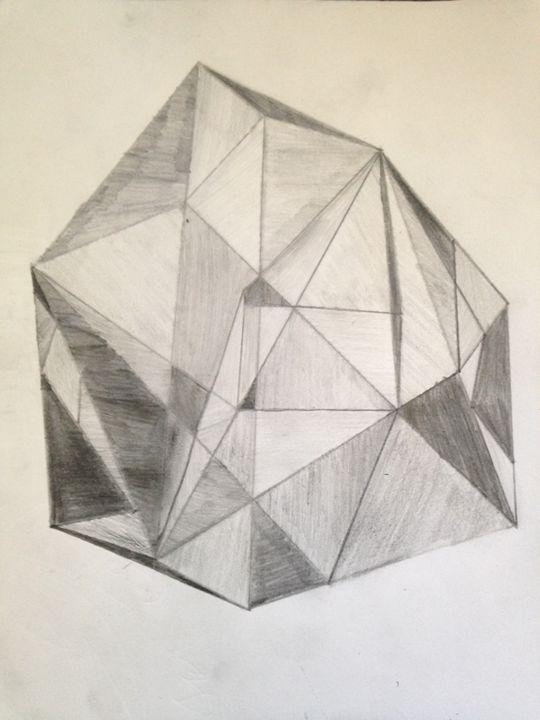 Into The Geometric depths - ExtrAvAgant Designs