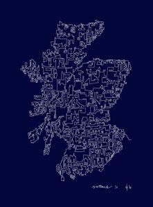 Scotland in Blue