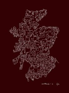 Scotland in Red
