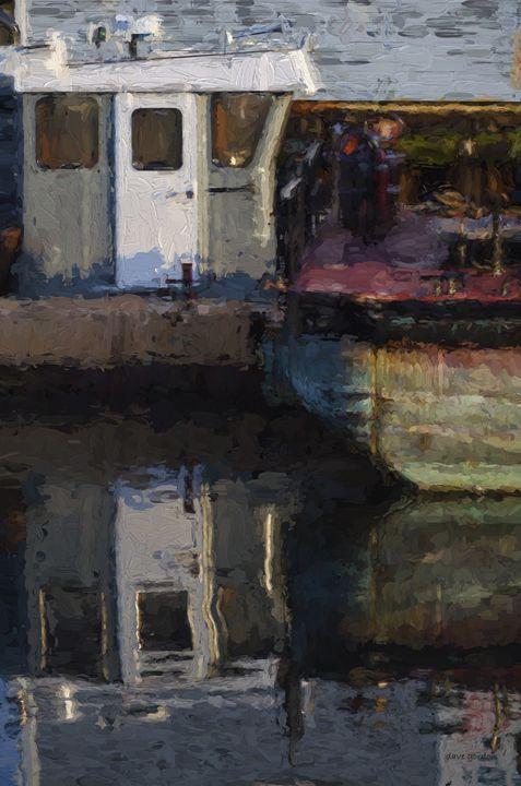 New Bedford Waterfront  XXIV - Dave Gordon Arts