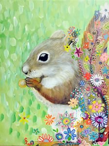Whimsical Squirrel