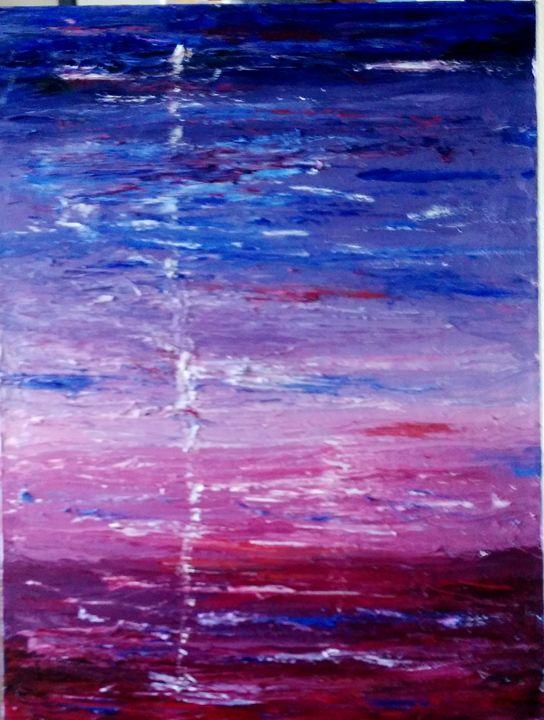 Tricolour - Bernard Victor's Paintings