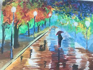 Rainy Night in Paris
