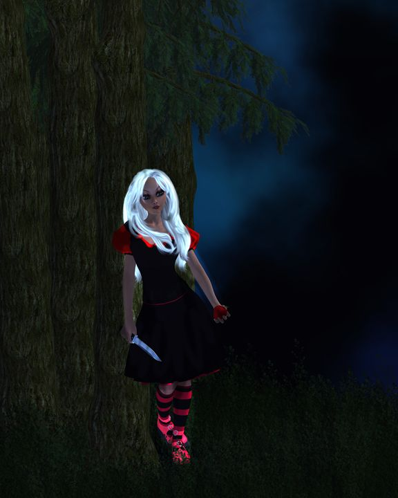 Dark Snow White - Kathy Gold Art