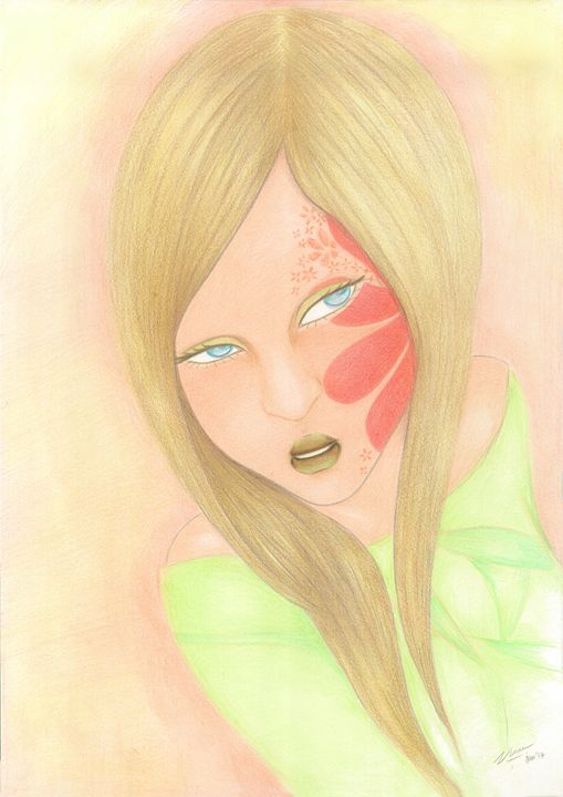 "Woman_face_#6 - Veronika ""Vince"" Santosa"