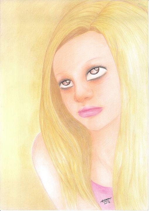 "Woman_face_#3 - Veronika ""Vince"" Santosa"