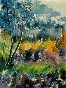 In the wood 2111 - Pol Ledent's paintings