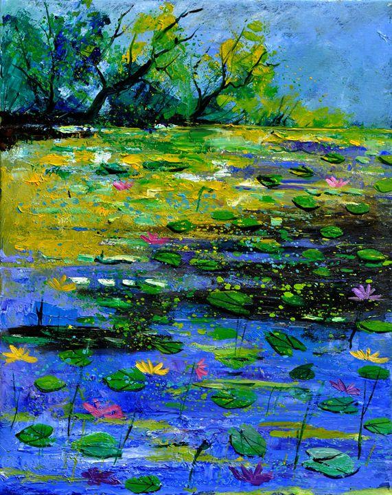pond 452170 - Pol Ledent's paintings