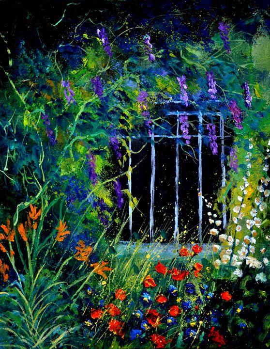 Garden 4521 - Pol Ledent's paintings