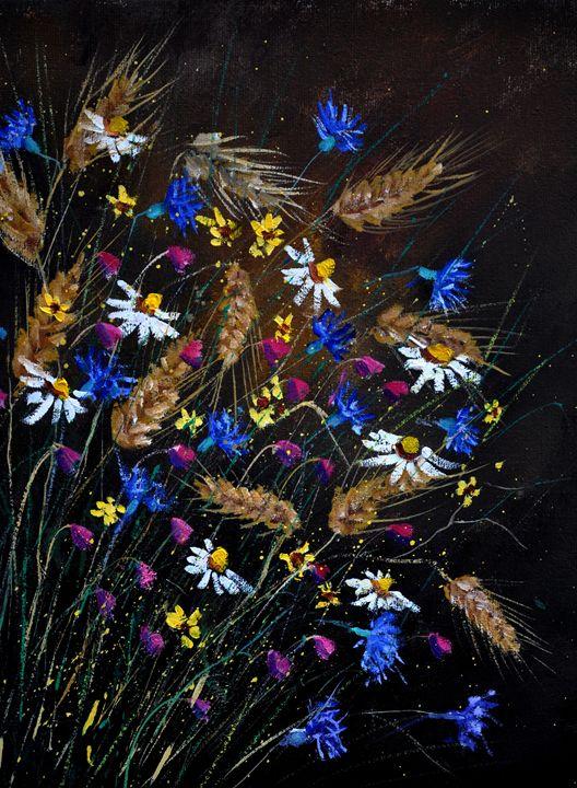 wild flowers 452150 - Pol Ledent's paintings