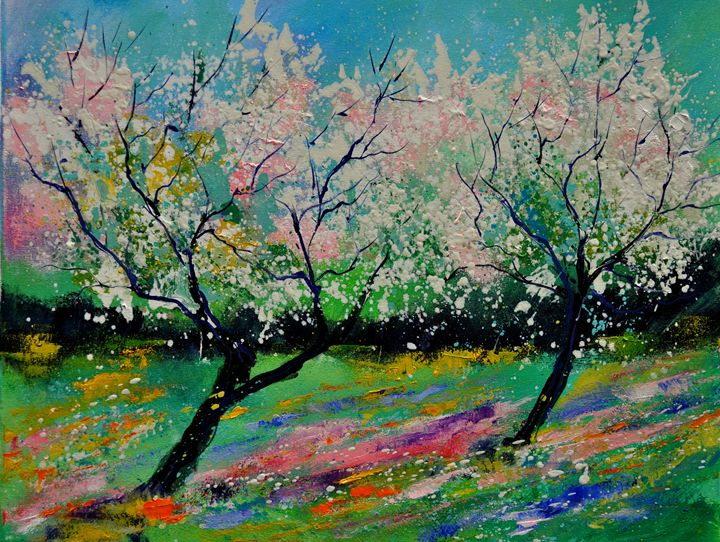 spring 452121 - Pol Ledent's paintings