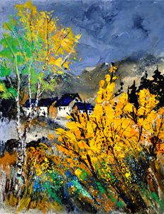 Brooms 45 - Pol Ledent's paintings