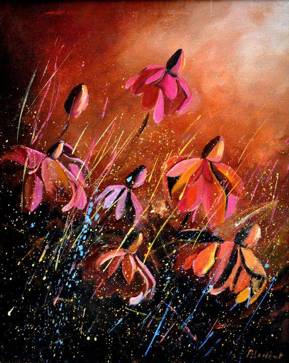 rudbeckias 45 - Pol Ledent's paintings