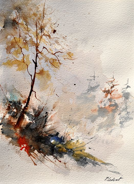 watercolor 319092 - Pol Ledent's paintings