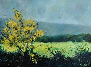 spring in beauraing - Pol Ledent's paintings