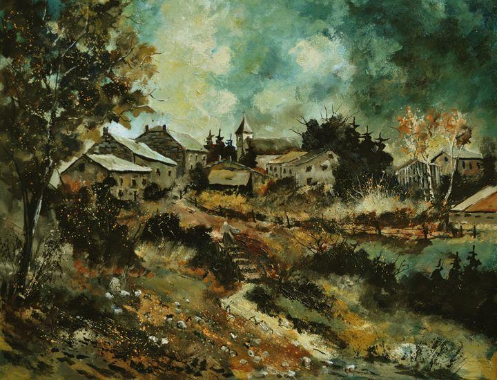 Houdremont - Pol Ledent's paintings