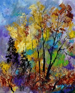 autumn 563101 - Pol Ledent's paintings