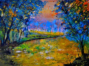 pond 4030 - Pol Ledent's paintings