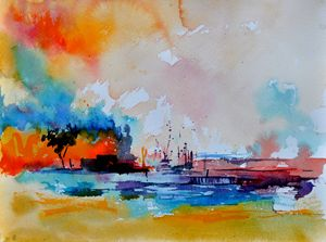 watercolor 413030 - Pol Ledent's paintings