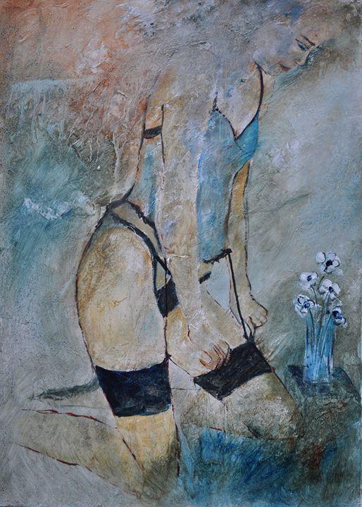 nude 5741 - Pol Ledent's paintings