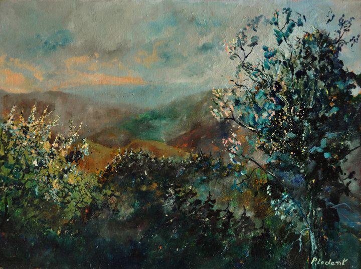 Valley semois - Pol Ledent's paintings