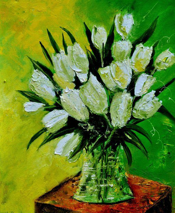 Tulips 56 - Pol Ledent's paintings