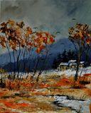 oil on canvas 40  x 50  cm