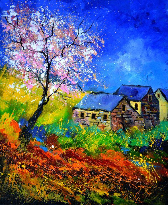 spring 566111 - Pol Ledent's paintings