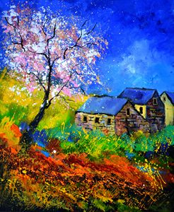 spring 566111 - Pol Ledent's paintings