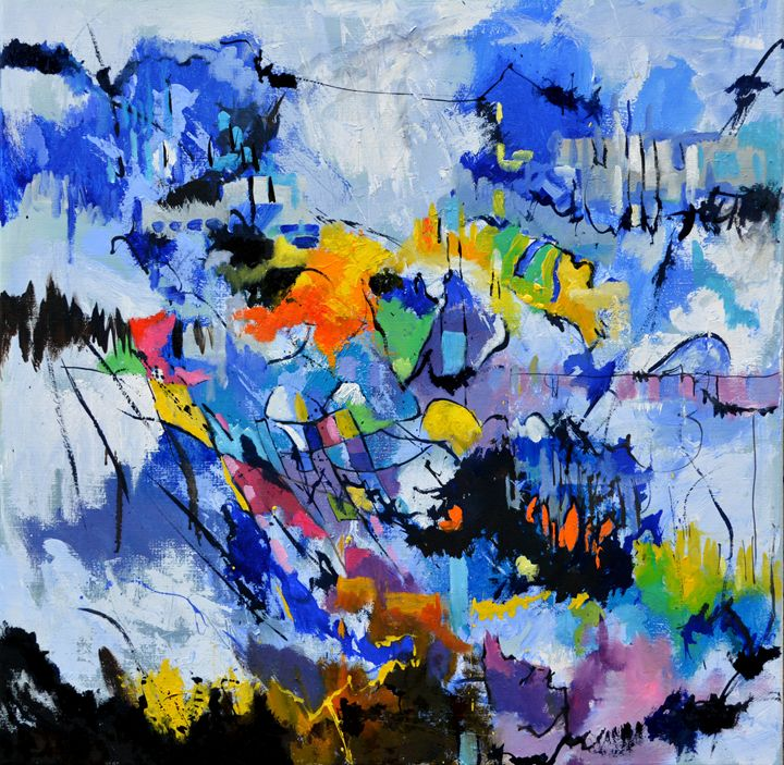 abstract 8861114 - Pol Ledent's paintings