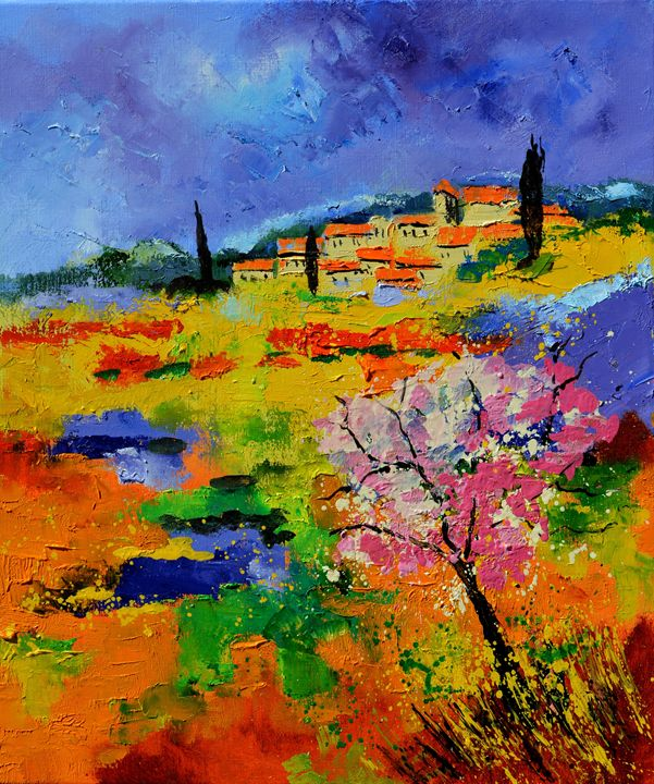 Provence 677160 - Pol Ledent's paintings