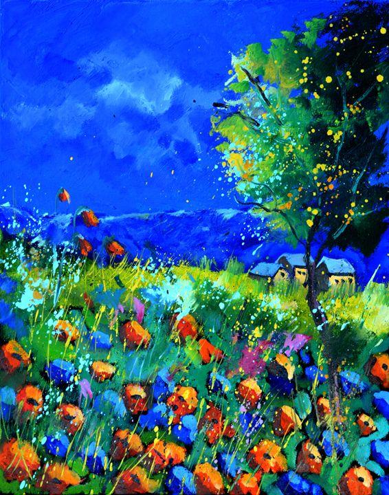 poppies 454170 - Pol Ledent's paintings