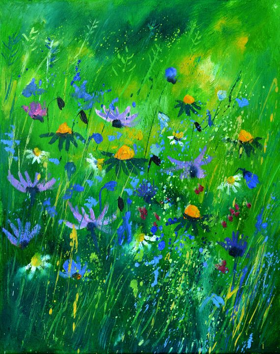 wild flowers 457170 - Pol Ledent's paintings