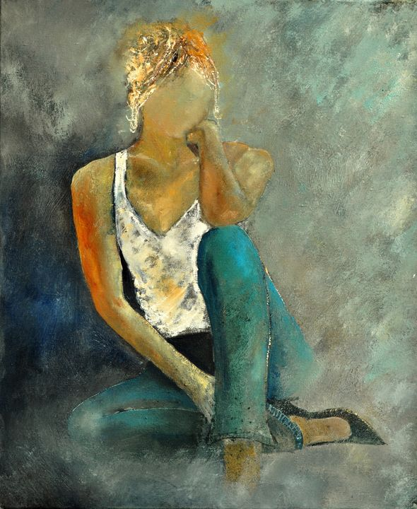 young girl 6721970 - Pol Ledent's paintings